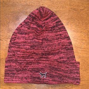 PINK toboggan & scarf